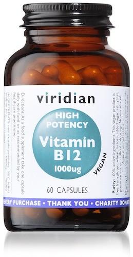 High Potency Vitamin B12 Veg Caps