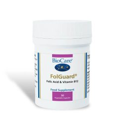 Biocare FolGuard (Folic Acid & B12) capsules