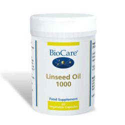Biocare Linseed Oil 1000 60 Capsules