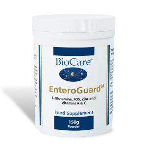 Biocare EnteroGuard 150g (L-Glutamine, FOS, Zinc, Vitamins A & C)
