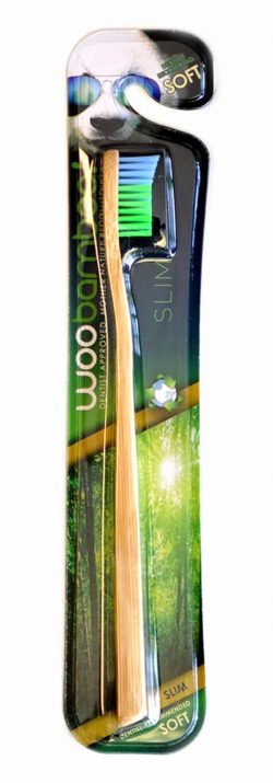 WooBamboo Natural Vegan Toothbrush for Adults