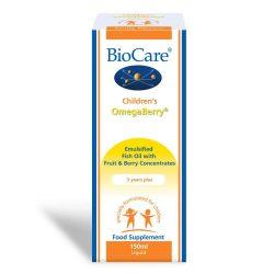 Biocare Children's OmegaBerry (Omega-3 fish oil) 150ml