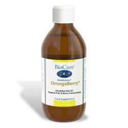 Biocare BioMulsion OmegaBerry (Omega-3 fish oil) 300ml