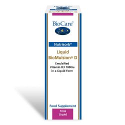 Biocare Nutrisorb Liquid BioMulsion D (1000iu) 10ml