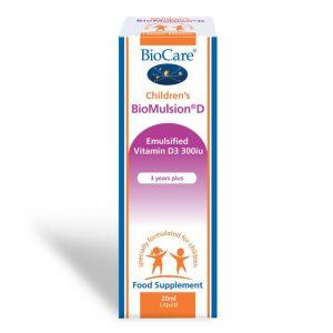 Biocare Children's BioMulsion D (Liquid vitamin D)20ml