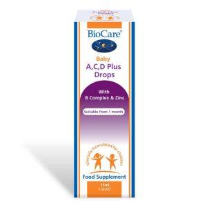 Biocare Baby Vitamin A, C, D Plus Drops 15ml