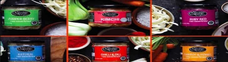 The Cultured Food Company Fermented Foods Kimchi and others