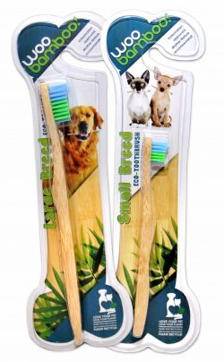 WooBamboo Natural Vegan Toothbrush