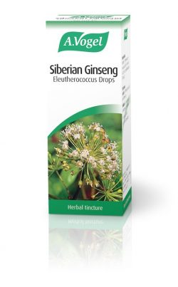 Siberian Ginseng Equivalent to 875mg of herb powder 50ml