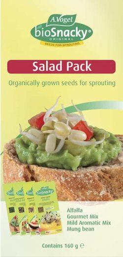 Bioforce Super Foods BioSnacky Salad Pack 4 packs
