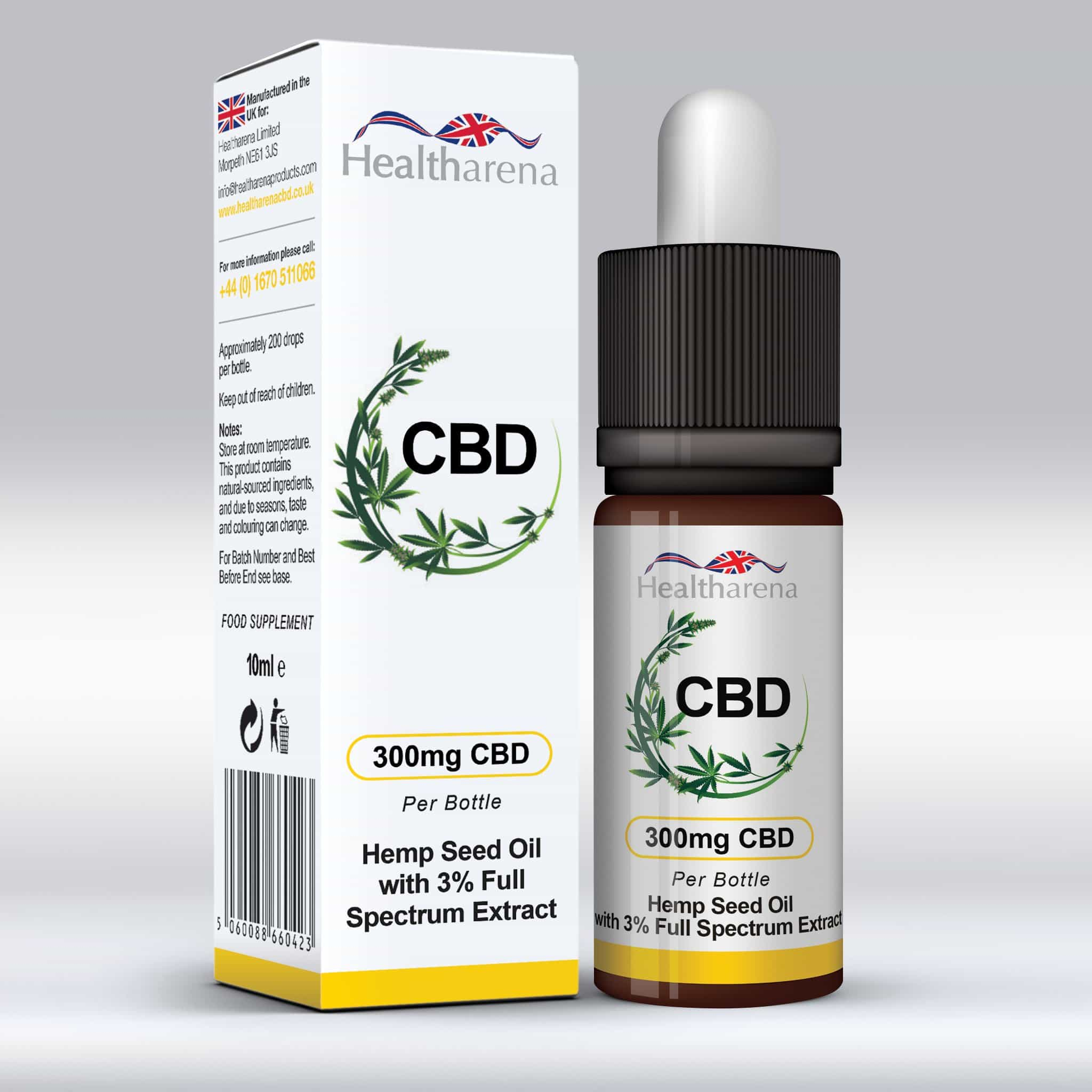 Healtharena CBD Oil 300mg